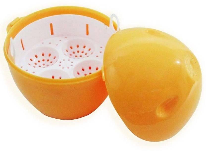 Ruchi Houseware Popcorn Maker With Egg Boiler (2 in 1) MW-38 Egg Cooker