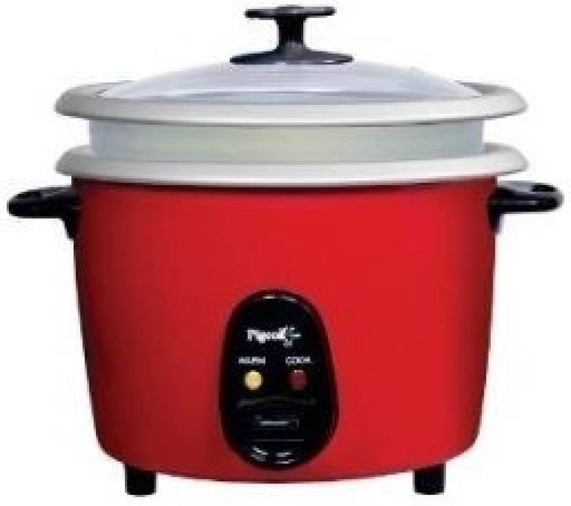 f1485bdf16f Pigeon Joy SDX Double 2.8 lt Electric Rice Cooker Price in India ...