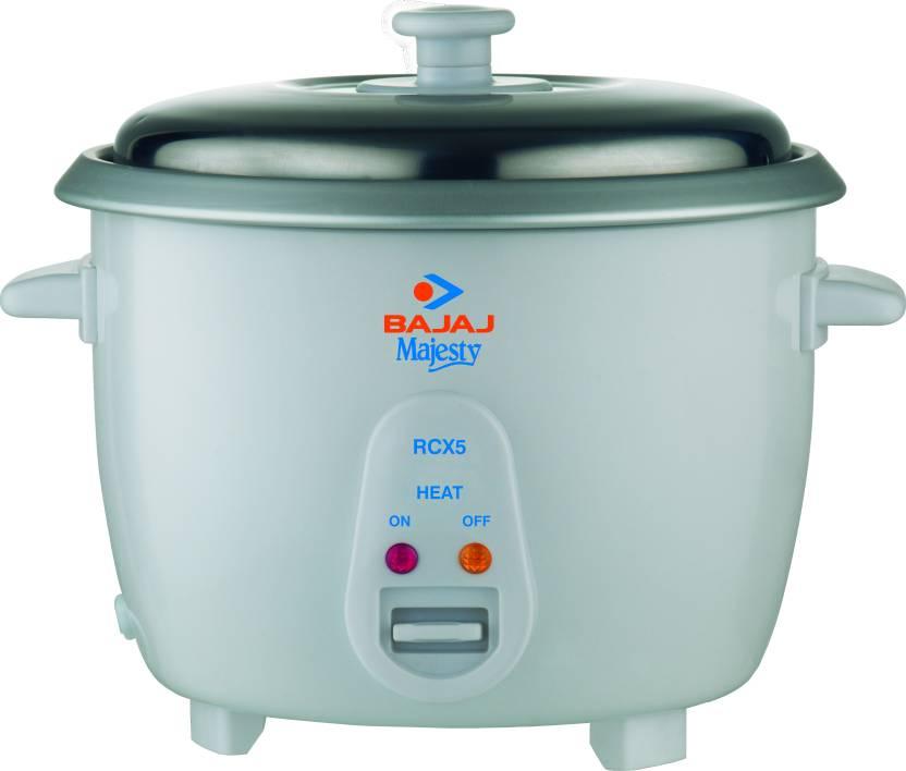 Bajaj Majesty RCX 5 Electric Rice Cooker