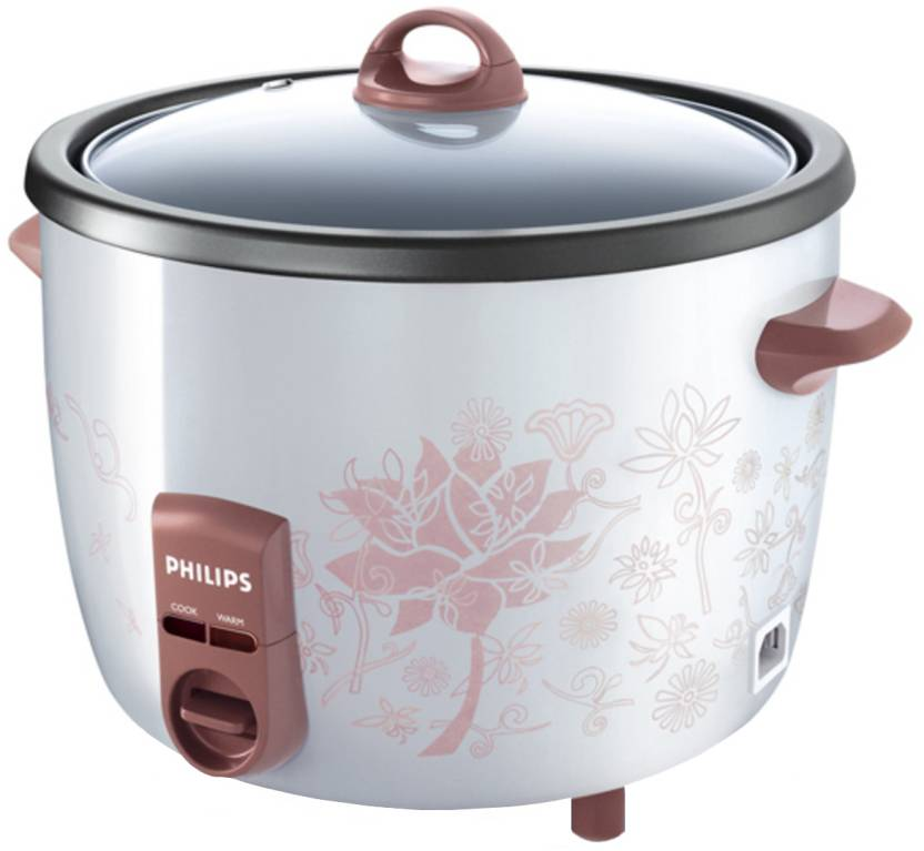 Philips HD4718/60 Electric Rice Cooker with Steaming Feature