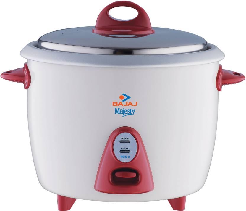 Bajaj Majesty New RCX 3 Electric Rice Cooker
