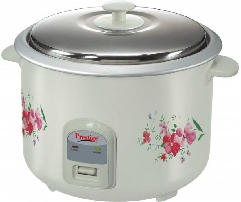 Prestige PRWO 2.8-2 Electric Rice Cooker with Steaming Feature