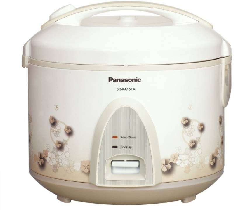 Panasonic SR KA 15 FA Electric Rice Cooker with Steaming Feature