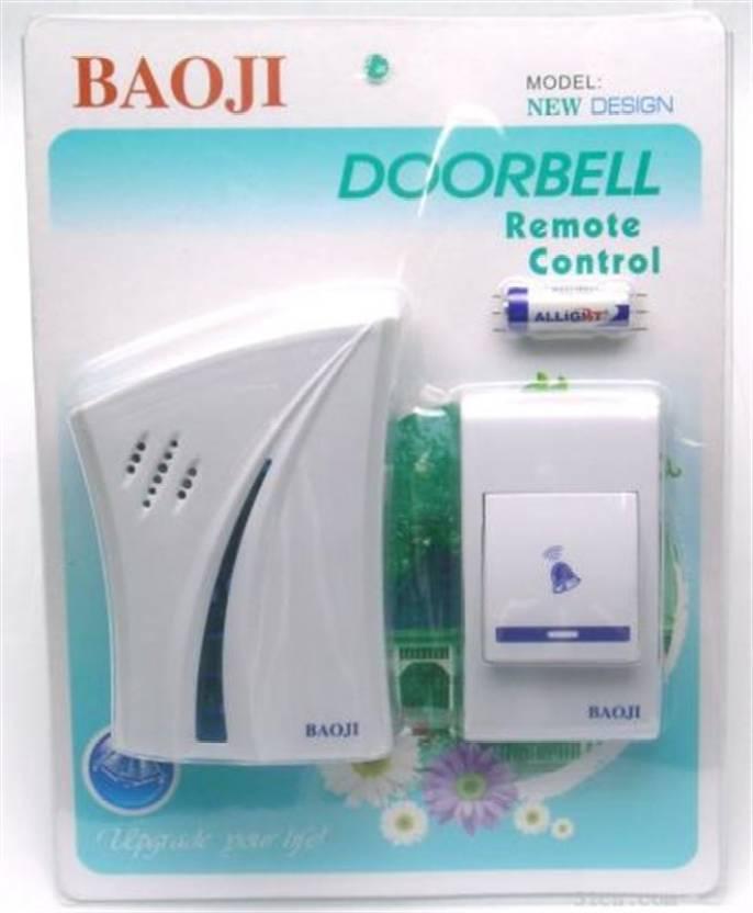 Baoji Remote control doorbell Wireless Door Chime Price in India ...