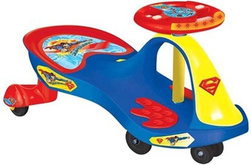 Toyzone Superman Magic Car Ride On Price In India Online At Flipkart