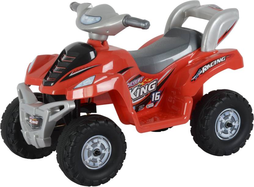 Toyhouse Desert King Small ATV Bike 6V Rechargeable Bike Ride On