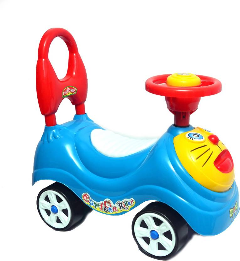 Kkd Kids Zone Cartoon Rider Car Ride On Price In India Buy Kkd