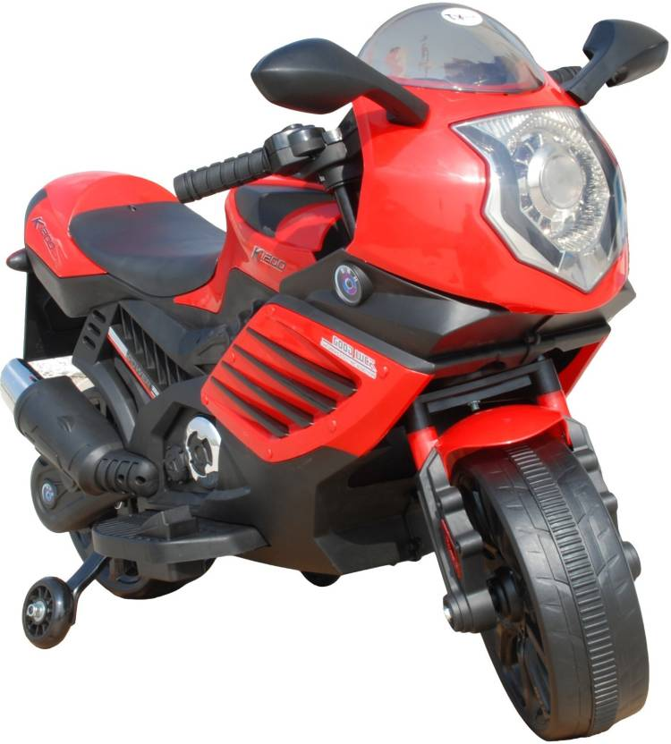 1dfe710ea22 Toy House Kawaskaki Tiger Rechargeable for kids (2 to 6yrs) Bike Battery  Operated Ride On (Red)