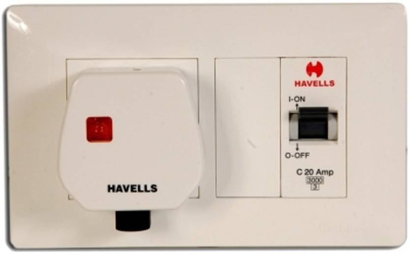 Havells Modular Ac Box Electrical Combo Price In India