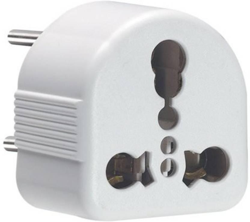 Vinay 160088 6A - 16A Uni Conversion Three Pin Plug