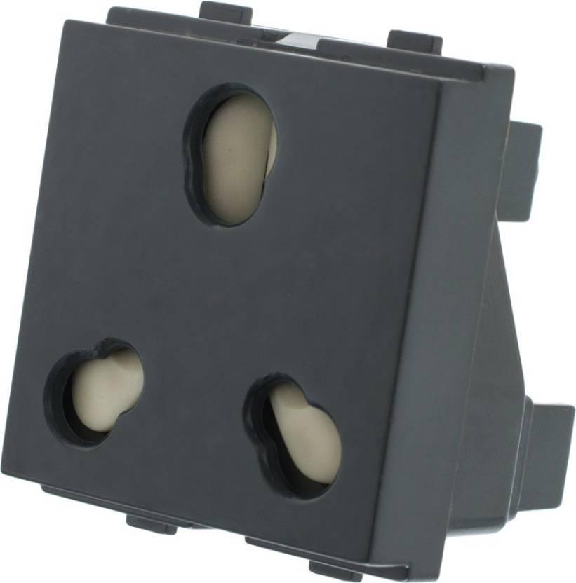 Girish 8711B 16 A Five Pin Socket
