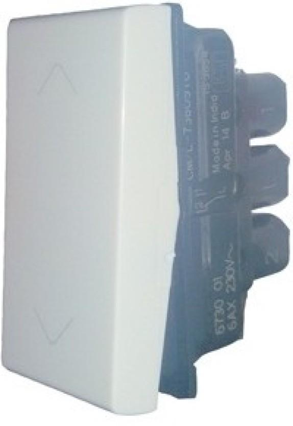 Legrand Legrand Myrius 673001 6A 2Way White Switch 6 Two Way