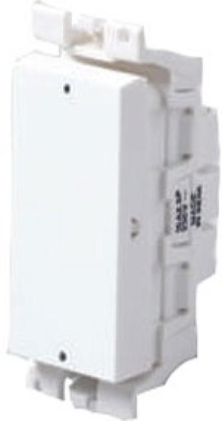 MK MK Blenze DW402WHI 6A 2Way White Switch 6 Two Way Electrical