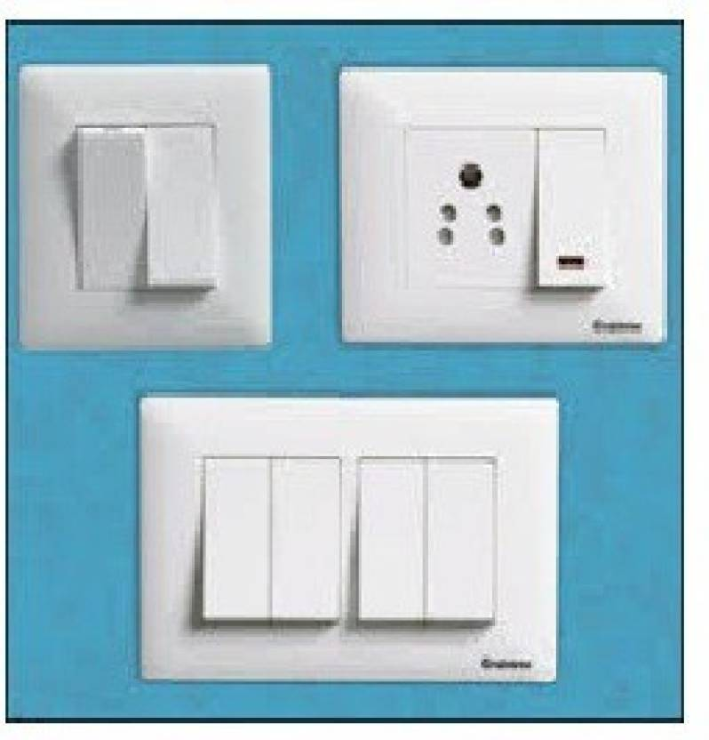 CROX 6 Three Way Electrical Switch Price in India - Buy CROX 6 Three ...