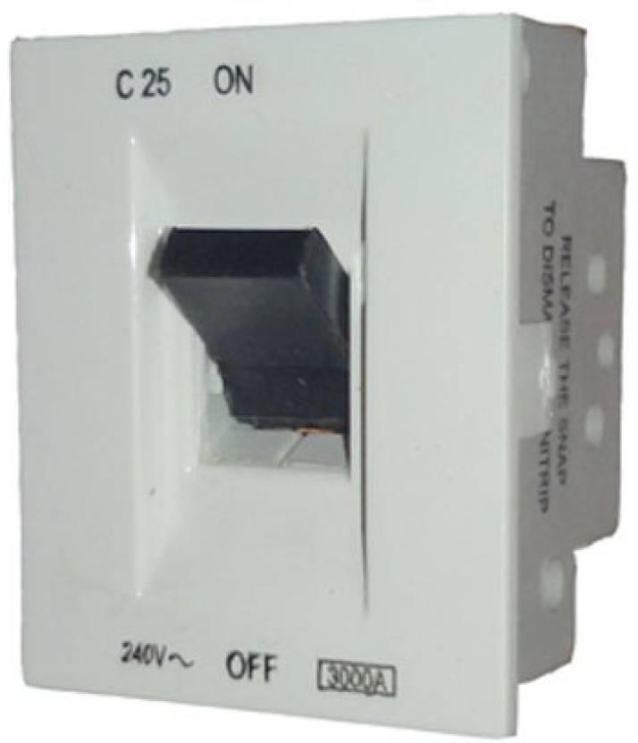MK Wraparound W26227 25A Mini Trip Switch 25 One Way Electrical ...