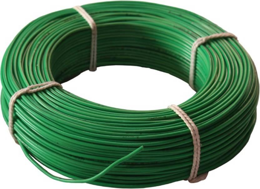swaraj cable pvc Green 90 Wire Price in India - Buy swaraj cable pvc ...