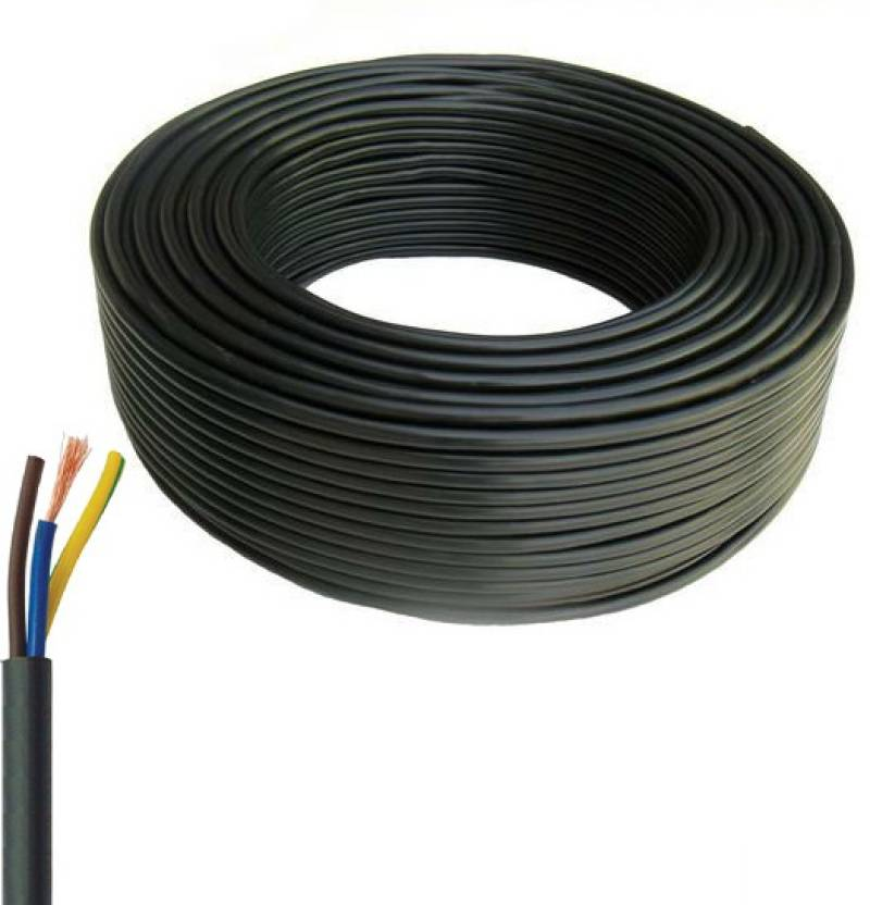 Great White FR PVC (C1) 1.5 sq/mm Black 100 m Wire Price in India ...