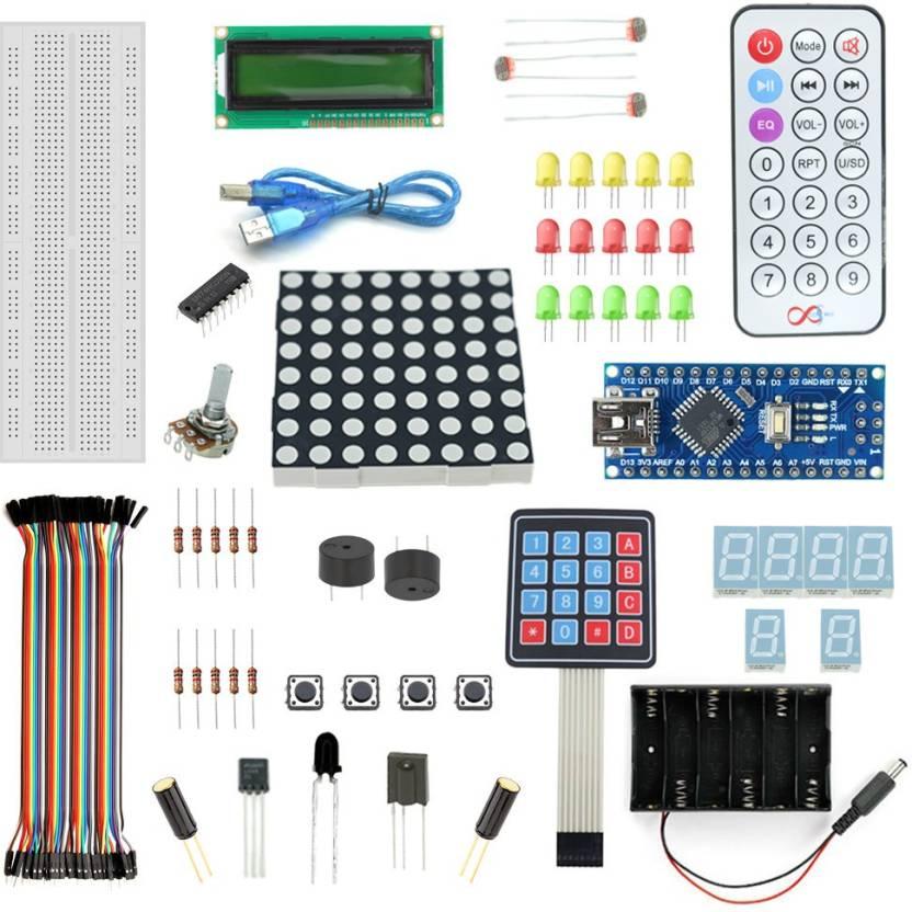 Robomart Nano V3 Keypad Kit With Basic Arduino Projects