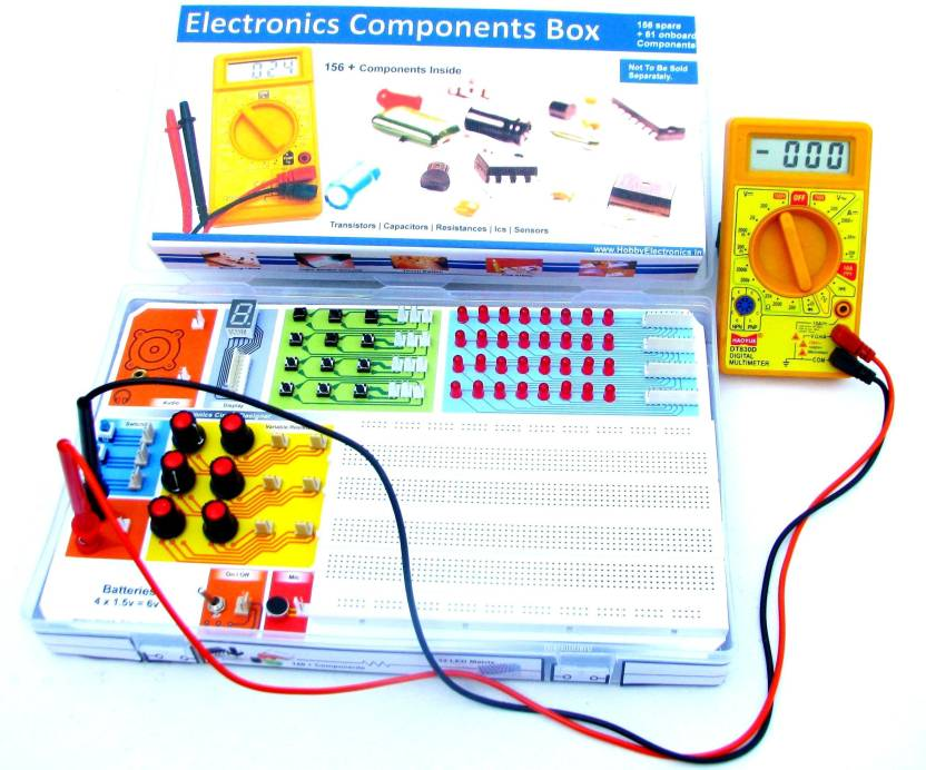 HE Retail Hobby Electronics Projects Mega Kit 60 in 1 Circuits ...