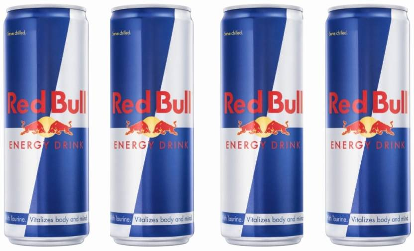red bull 350 ml can pack of 4 energy drink price in india buy