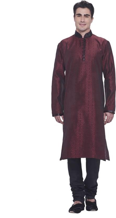 b000a1c10c Manyavar Men's Kurta and Churidar Set - Buy Maroon Manyavar Men's Kurta and Churidar  Set Online at Best Prices in India | Flipkart.com