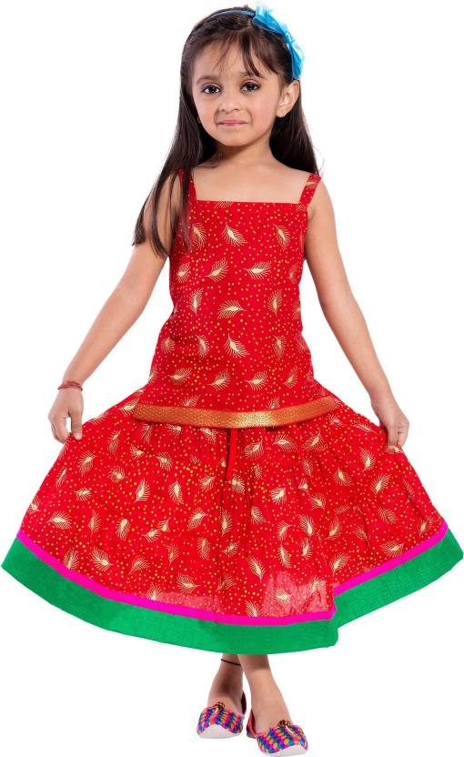 fb70d8f6052a Magnus Girls Lehenga Choli Ethnic Wear Printed Lehenga Choli Price ...