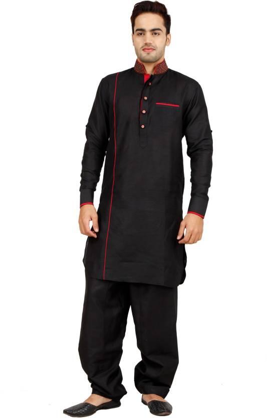 0c1b7f16f7 Art Designer Wear Men's Pathani Suit Set - Buy BLACK Art Designer Wear Men's  Pathani Suit Set Online at Best Prices in India | Flipkart.com