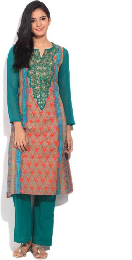 978d217fe547c0 Imara Women's Salwar and Kurta Set - Buy TEAL Imara Women's Salwar ...