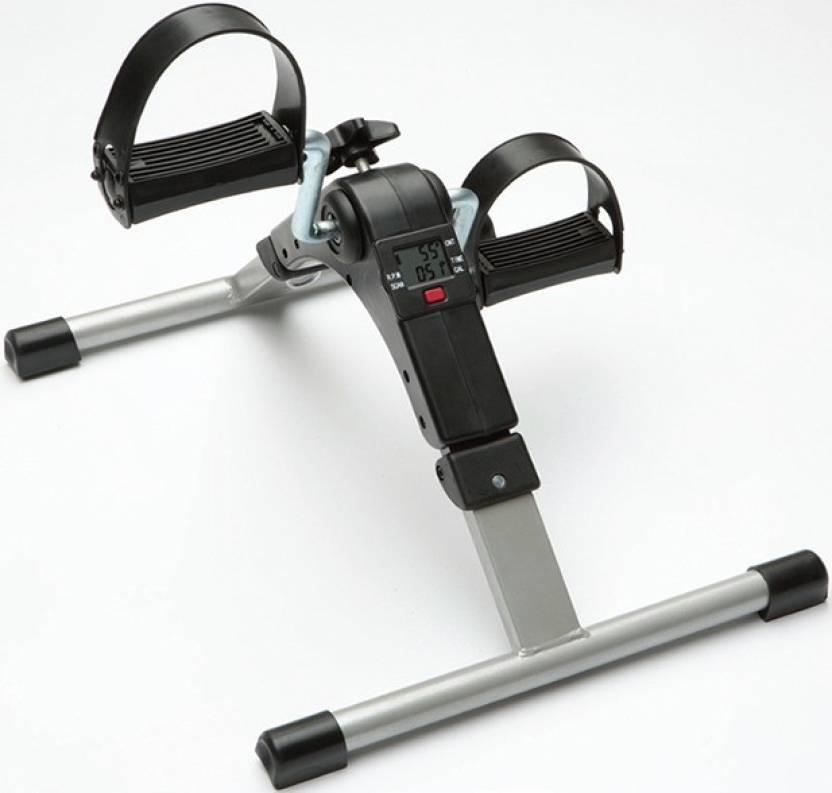 Ibs Pedal Exerciser Portable Folding Mini Leg Cycle Home Gym Roller Bicycle Under Desk Elliptical Bike