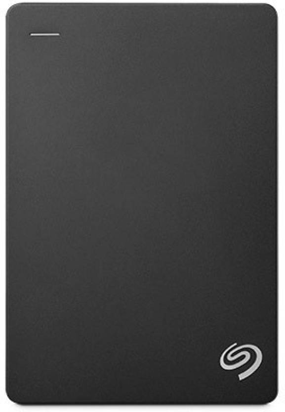 Seagate Backup Plus 4 TB Wired External Hard Disk Drive  (Black, Mobile Backup Enabled)