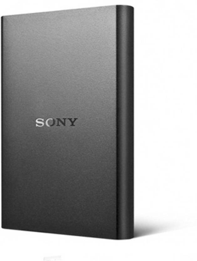 Upto 25% off On Computer Accessories By Flipkart | Sony 1 TB Wired External Hard Disk Drive  (Black) @ Rs.4,999