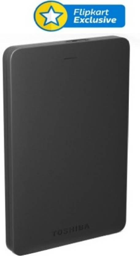 Toshiba Canvio Alumy 2 TB Wired External Hard Disk Drive  (Black)