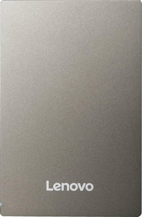 Lenovo F309 2 TB External Hard Disk Drive  (Grey)