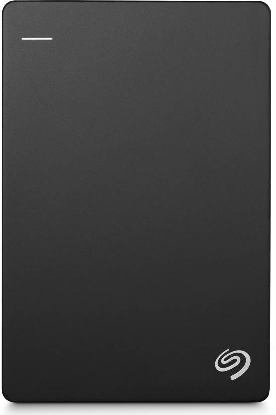 Seagate Plus Slim 1 TB Wired External Hard Disk Drive  (Black, Mobile Backup Enabled)
