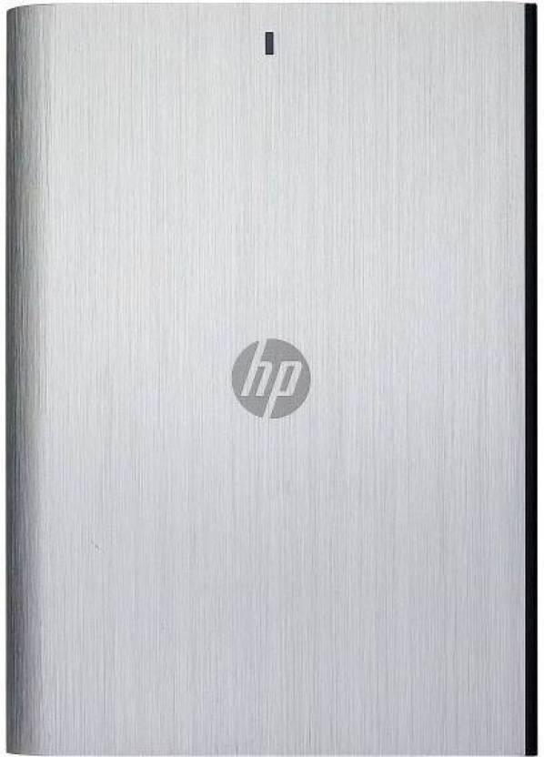 HP 1 TB Wired External Hard Disk Drive  (Grey)