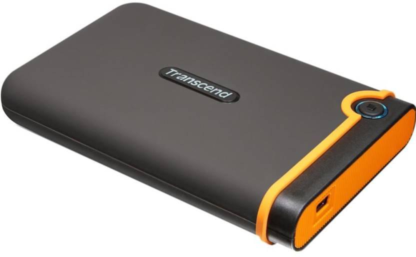 Transcend StoreJet Rugged 25M2 Series 500 GB External Hard Disk Drive