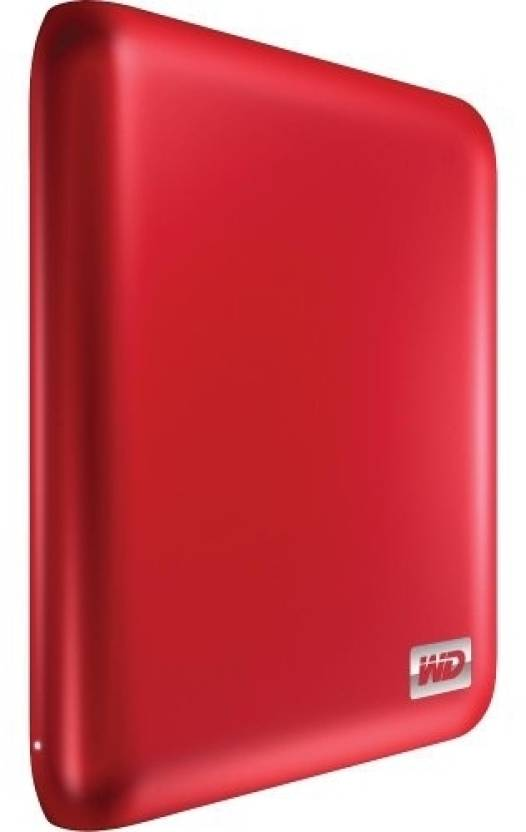WD Essential USB Passport Edition 2.5 Inch 500 GB External Hard Disk (Red)