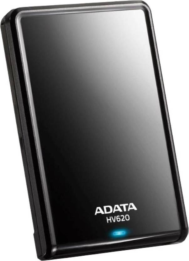 Adata HV620 2.5 Inch 1 TB External Hard Drive (Black)