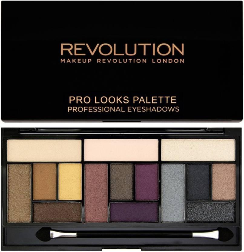 Makeup Revolution Pro Looks Big Love Eyeshadow Palette 13 g (Multicolor)