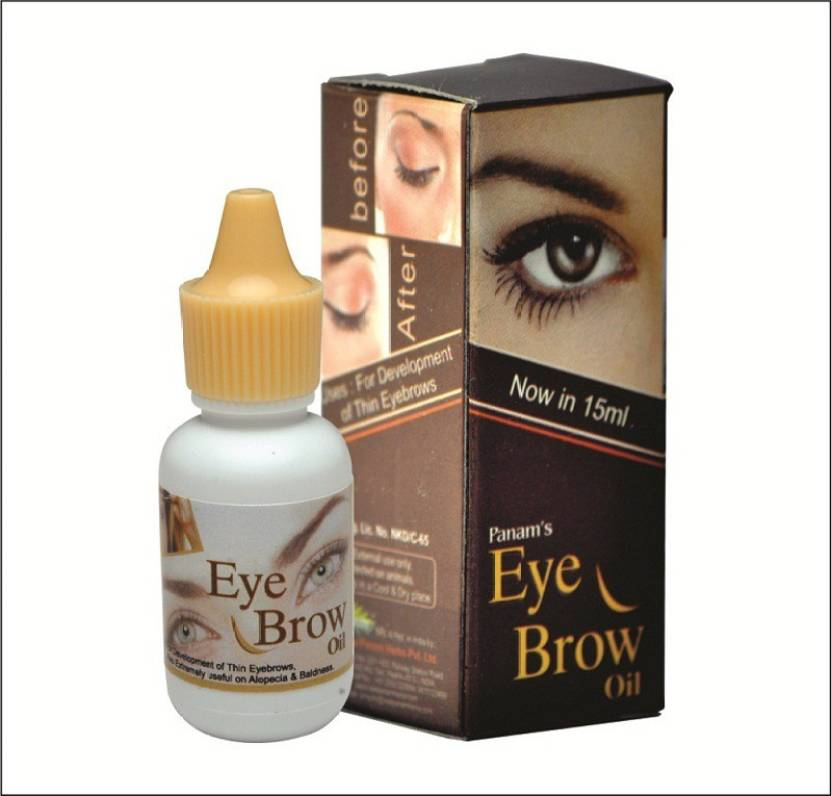 Panam Eye Brow Oil 15 Ml Price In India Buy Panam Eye Brow Oil 15