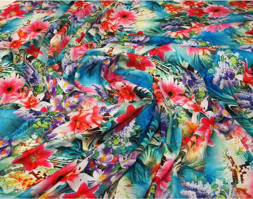 Latasha Satin Printed Multi Purpose Fabric Price In India Buy