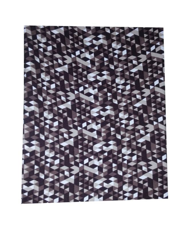 Ud Febric Cotton Polyester Blend Printed Shirt Fabric Price In India