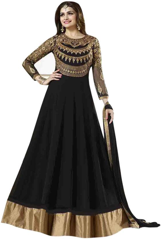 b95f05b969 Fashion Bucket Georgette Embroidered Semi-stitched Salwar Suit Dupatta  Material Price in India - Buy Fashion Bucket Georgette Embroidered Semi- stitched ...