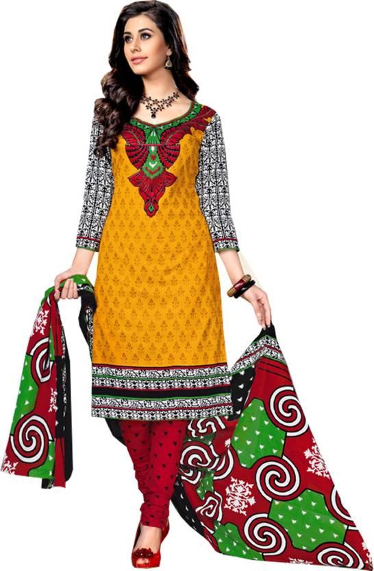 de0fea7573 Pure Cotton Cotton Printed Salwar Suit Dupatta Material (Un-stitched)