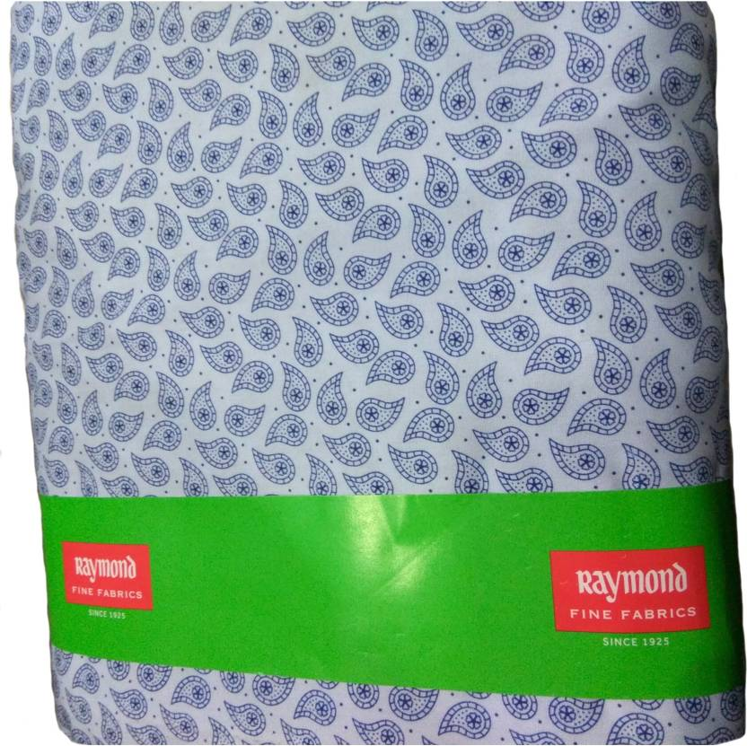 Raymond Cotton Polyester Blend Printed Shirt Fabric Price In India
