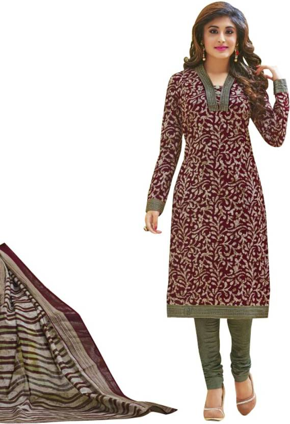99b167fa68 Indian Wear Online Cotton Printed Salwar Suit Dupatta Material (Un-stitched)