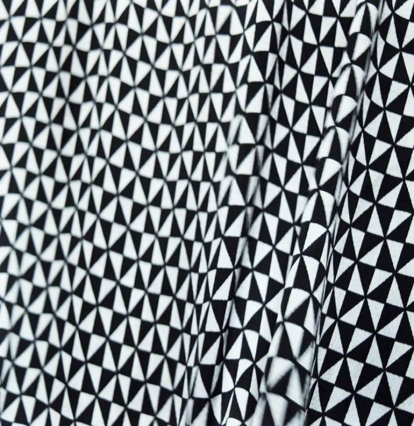 G Ort Satin Printed Geometric Print Multi Purpose Fabric Price In