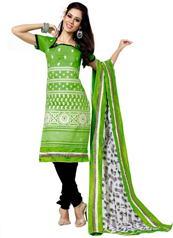 bf6bfbf1f5 Mina Bazaar Cotton Printed Salwar Suit Material Price in India - Buy ...