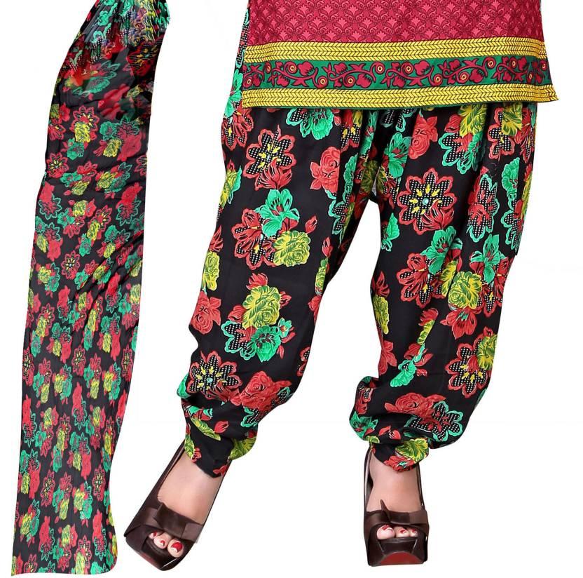 Khushali Crepe Self Design, Printed Salwar Suit Dupatta Material(Un-stitched)