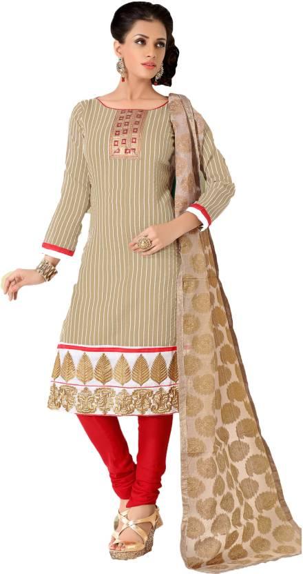 b746c7194b5 Suchi Fashion Cotton Self Design Salwar Suit Dupatta Material Price ...